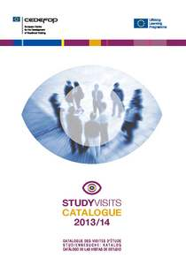 Study visits catalogue 2013/14