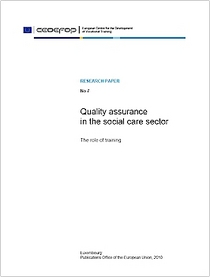 Quality assurance in the social care sector
