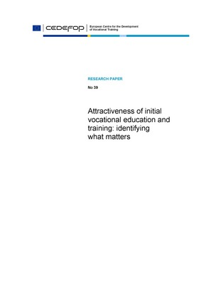 Attractiveness of initial vocational education and training: identifying what matters
