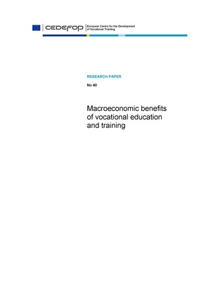 Macroeconomic benefits of vocational education and training