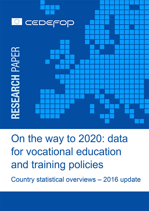 on the way to data for vocational education and training policies