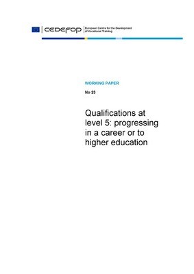 Qualifications at level 5: progressing in a career or to higher education