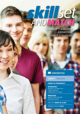 Skillset and Match – Cedefop's new magazine promoting learning for work