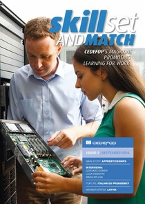 Skillset and Match (Cedefop's magazine promoting learning for work) – 2nd issue