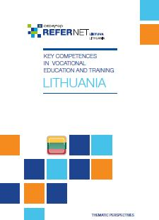 Cover Key competences in vocational education and training - Lithuania