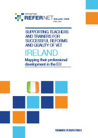 Cover Supporting teachers and trainers Ireland