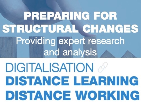 Digitalisation, distance learning - distance working
