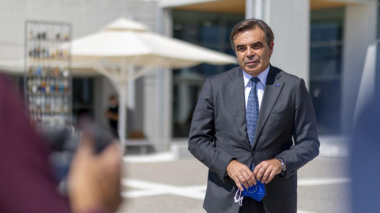 European Commission Vice President Margaritis Schinas