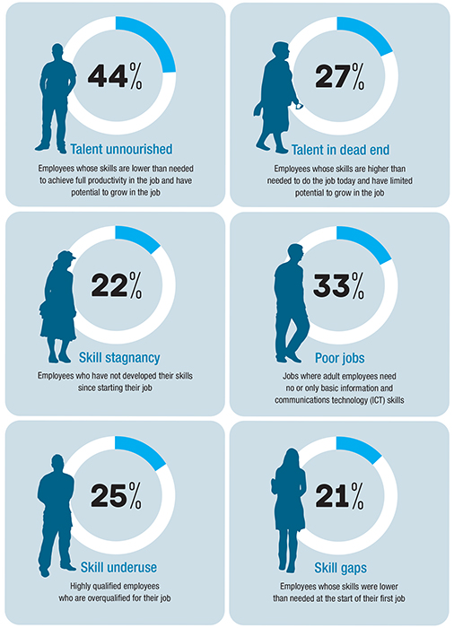 European Skills and Jobs Survey infographic
