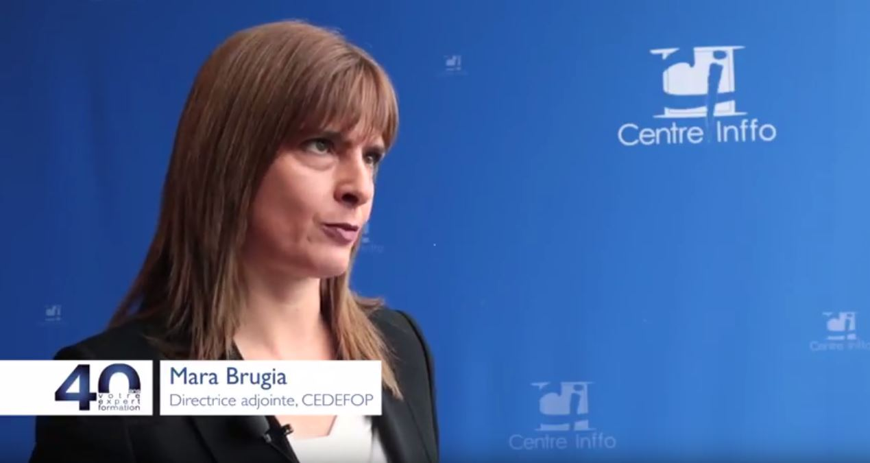 Interview with Mara Brugia, Cedefop Deputy Director | Cedefop