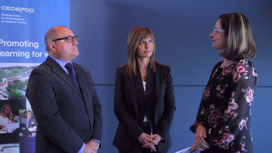 Interview with Cedefop Director James Calleja and Deputy ...
