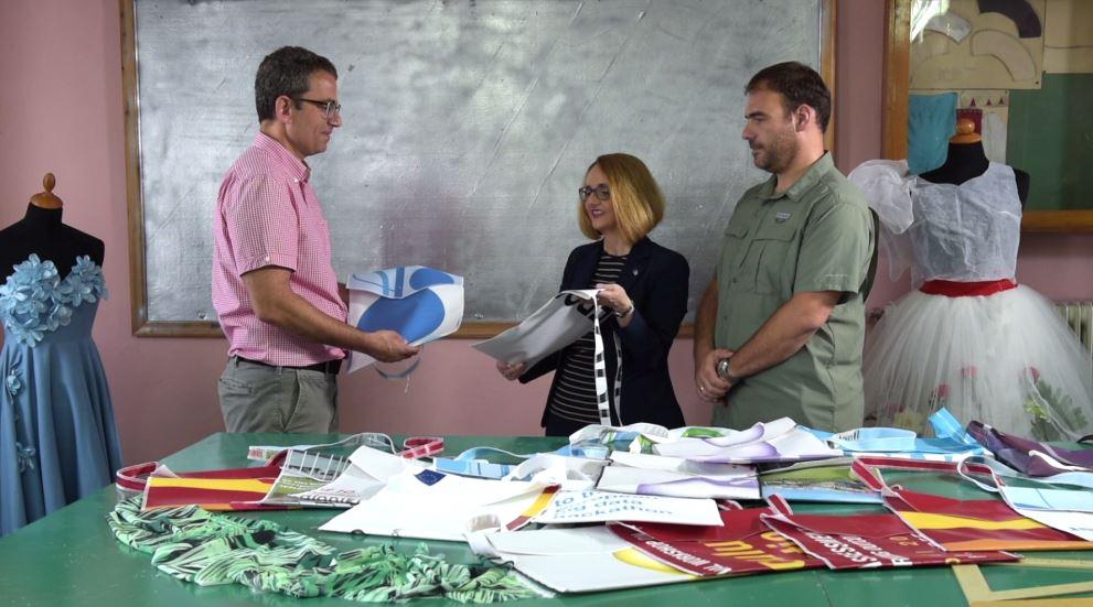 Visit in apprenticeship school in Thessaloniki