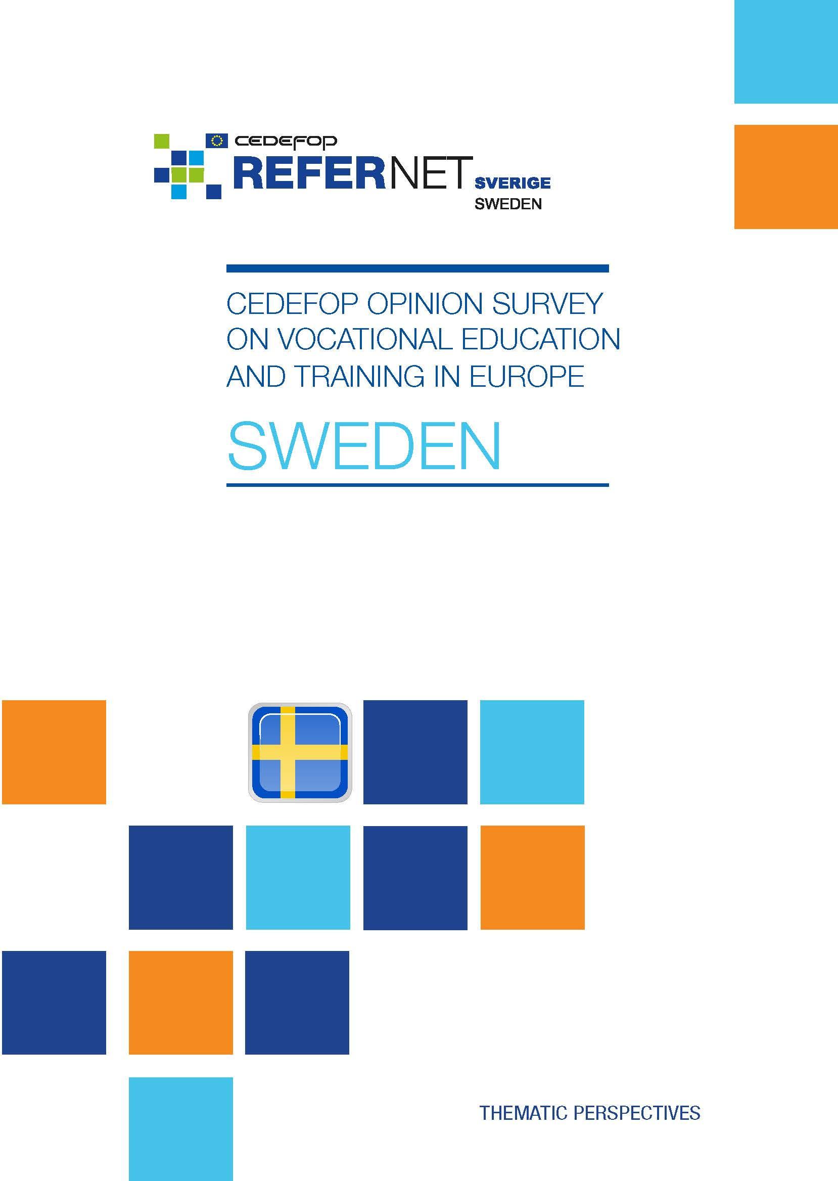 Cedefop public opinion survey on vocational education and training in Europe: Sweden