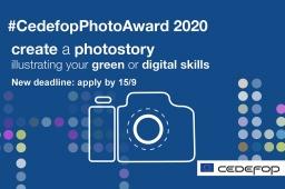 #CedefopPhotoAward 2020_new deadline