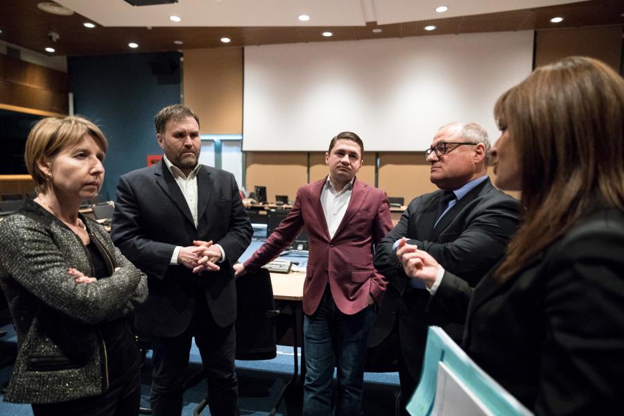 MEPs visit18