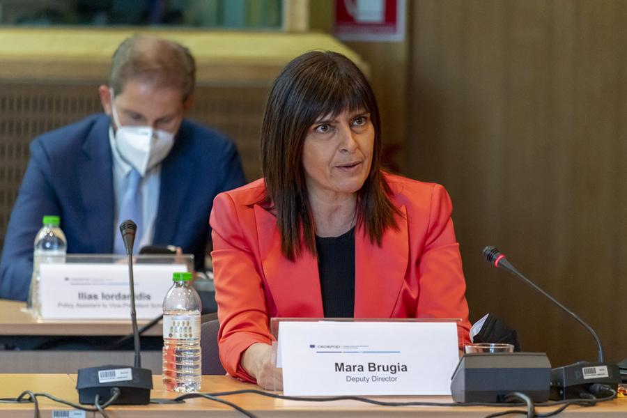 Mara Brugia, Cedefop Deputy Director
