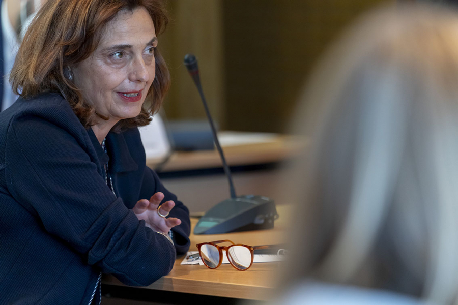 Ms Niovi Ringkou, Head of Representation European Union