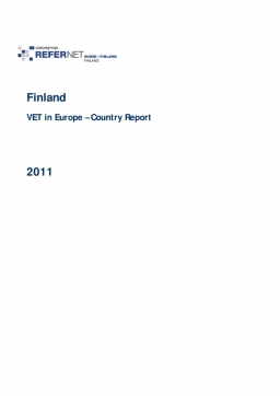 Finland: VET in Europe: country report 2011