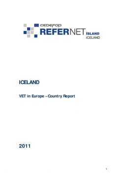 Iceland: VET in Europe: country report 2011