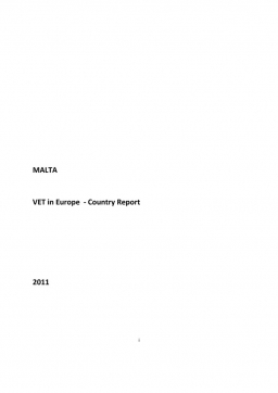 Malta: VET in Europe: country report 2011