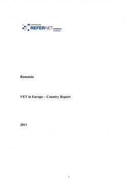 Romania: VET in Europe: country report 2011