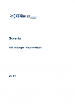 Slovenia: VET in Europe: country report 2011