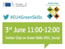 Twitter Chat #EU4GreenSkills
