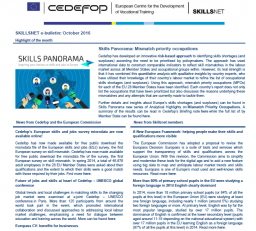 SKILLSNET e-bulletin: October 2016