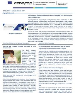 Skillsnet e-bulletin: March 2017