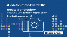 #CedefopPhotoAward 2020_new deadline