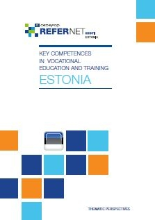 cover Key competences in vocational education and training estonia