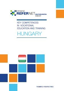 Cover Key competences in vocational education and training - Hungary