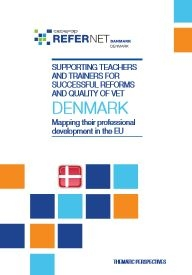 Cover Supporting teachers and trainers Denmark