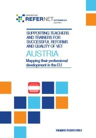 Cover Supporting teachers and trainers Austria