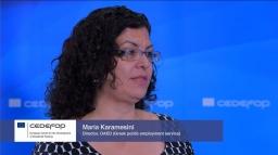 Maria Karamesini, OAED Director