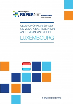 Cedefop public opinion survey on vocational education and training in Europe: Luxembourg